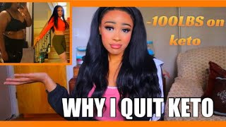 WHY I QUIT THE KETO DIET AFTER LOSING OVER 100LBS  | Why I Quit Keto and Went Vegan | Rosa Charice