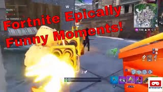 Fortnite Epic Funny Moments: Save fail, montage.