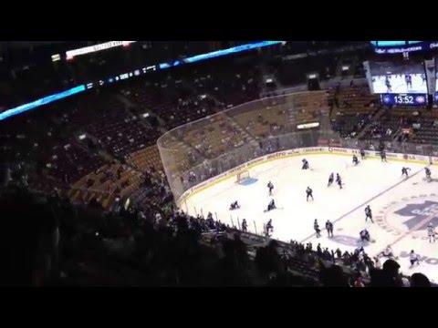Canadiens vs. Maple Leafs warm ups *HD*