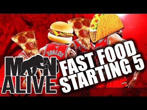 Man Alive - Fast Food Starting 5