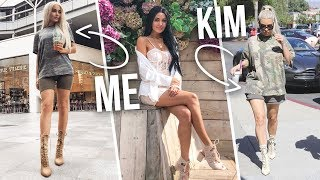 I TURNED INTO KIM KARDASHIAN FOR A WEEK...