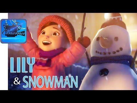 Lily and the Snowman - Короткометражный Мультфильм на Рождество