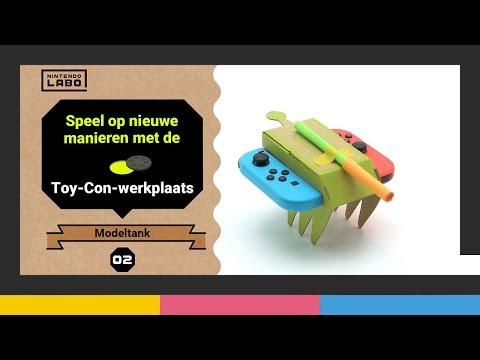 Ontdek nieuwe manieren om met Toy-Con Garage te spelen - Deel 2 (Nintendo Labo)