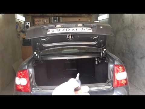 Самооткрывающийся багажник своими руками 58
