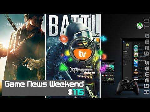 Game News Weekend - #115 от XGames-TV (Игровые Новости)