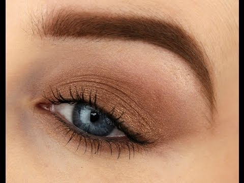 Beginners Makeup using ONE Eyeshadow