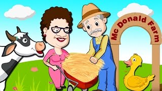 Old MacDonald Had A Farm | Nursery Rhymes Songs For Children | Chikaraks