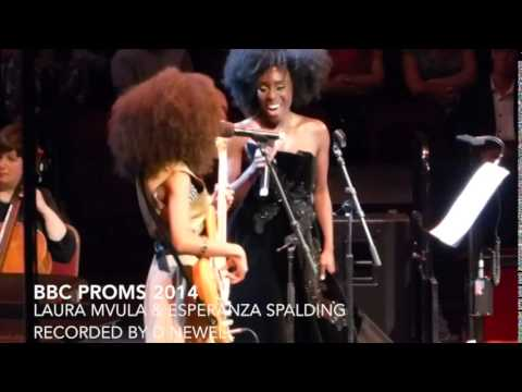 Laura Mvula & Esperanza Spalding at the BBC Proms 2014
