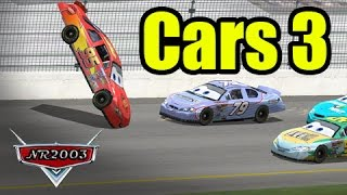 Cars 3 - McQueen's Crash - Reenactment