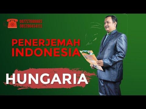 Penerjemah Indonesia Hungaria