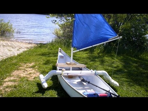 How to make a simple sail for a canoe.kayak.Dingy for about 20 dollars