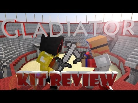 Gladiator Kit Review   Minecraft Hardcore Games