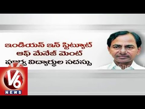 CM KCR in Singapore tour to address in IIM alumni conference