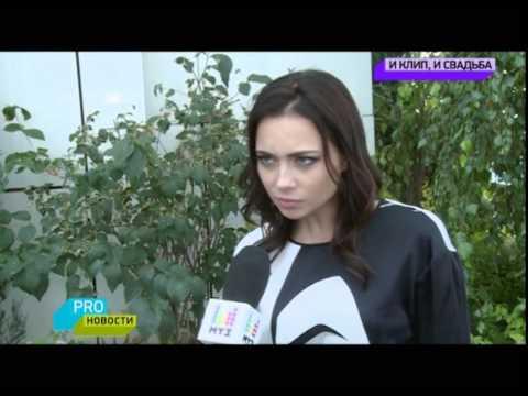 Съемки дебютного клипа Настасьи Самбурской на песню Ничего не жаль
