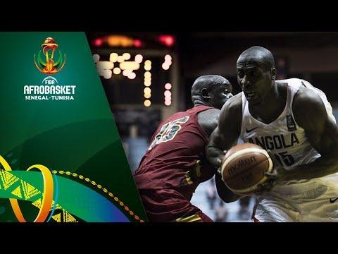 Angola v Uganda - Full Game - FIBA AfroBasket 2017