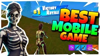 The BEST Game OF Fortnite Mobile EVER!? | Fortnite Mobile