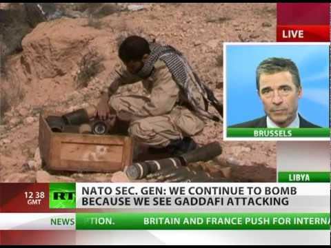 Chief Rasmussen LIVE on RT over Libya