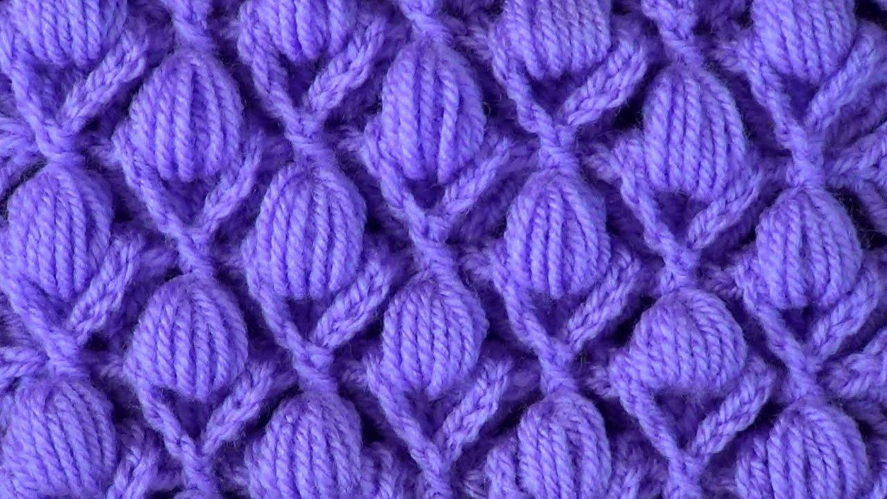 Видео вязание узоров для шапок спицами