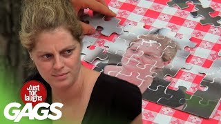 April Fools Just For Laughs Gags Special - Best Photo Magic Pranks