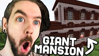 I Found A GIANT Woodland Mansion In Minecraft - Part 28