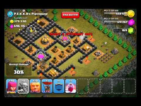 Clash of Clans Level 49 - P.E.K.K.A's (PEKKAs) Playhouse