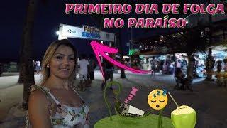 PRIMEIRO DIA DE FOLGA NO PARAISO