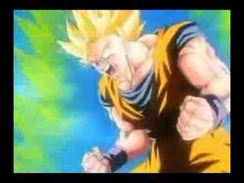 DBZ Goku SSJ Levels Video