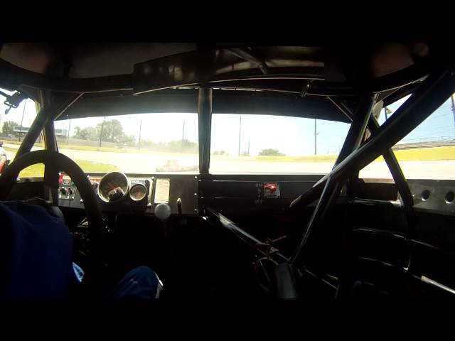 In Car during Sportsman Practice