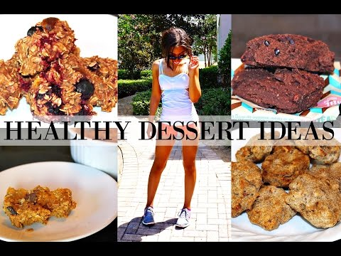 WHAT I EAT IN A DAY TO LOSE WEIGHT   HEALTHY DESSERT IDEAS - EASY. QUICK