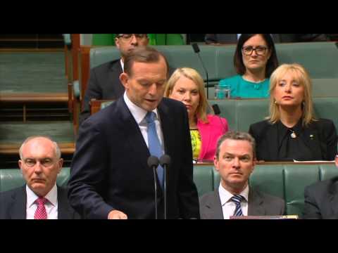 Tony Abbott Statement on National Security (Sep 22, 2014)