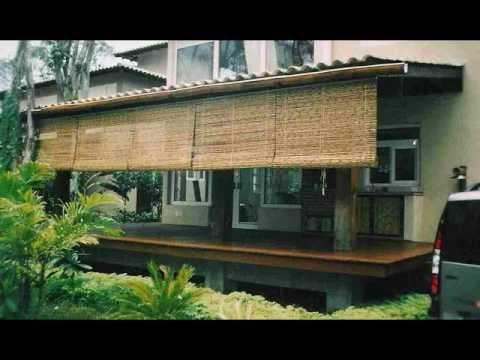 Cortinas e biombos nunes bambu youtube - Cortina de bambu ...