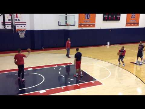 Washington Wizards Bradley Beal 3-point jump shot is so smo