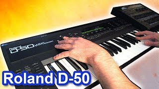 ROLAND D-50 - Ambient Chillout Music Soundscape  【SYNTH DEMO】