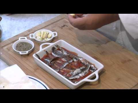 ACCIUGHE ALLA LIGURE – Le ricette di Cucina Italiana – .mov