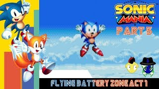 Let's Play Sonic Mania Pt. 5: Ring Problems