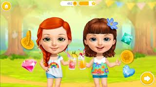 Sweet Baby Girl Summer Camp, Kids Learn to Cook, Fun Dressup & Racing Boad Tour