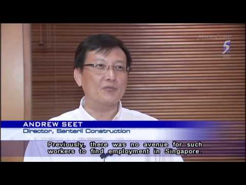 Singapore targets to bring in 200 Filipino construction workers a month - 01Feb2014