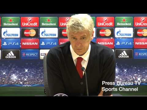 Arsene Wenger reaction Arsenal vs Besiktas