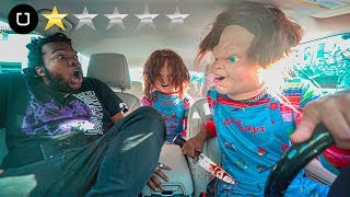 Chucky Uber Disguise PRANK !!! (GONE EXTREMELY WRONG)