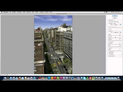 Tutorial Photoshop CS5 - Creare l'effetto Tilt Shift   (Photoshoppista)