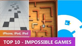 TOP 10 - Impossible Games 2014 (iPhone, iPod, iPad)