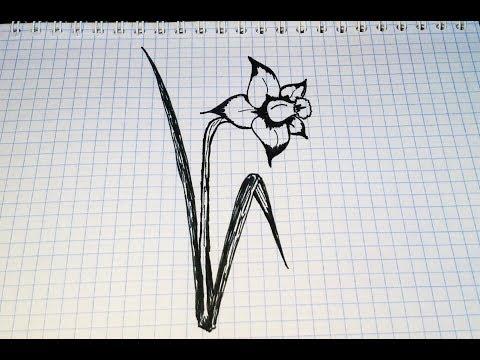 Рисунки простым карандашом и гелевой ручкой