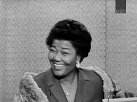 What's My Line? - Pearl Bailey; Woody Allen [panel] (Jan 5, 1964)