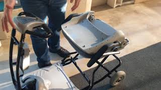Lexis Light Folding Mobility Scooter Overview