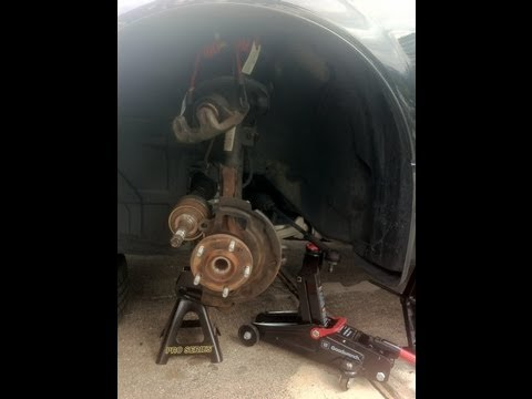 2006 Nissan Altima 2.5S Front Wheel Bearing Removal