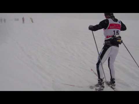 佛教大学体育会スキー部in野沢温泉20091231 林フリー スケーティング