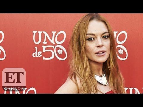 Lindsay Lohan Severs Finger In Boating Accident