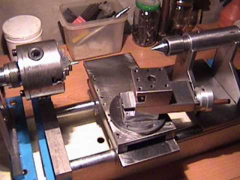 Como fabricar un torno casero para metal