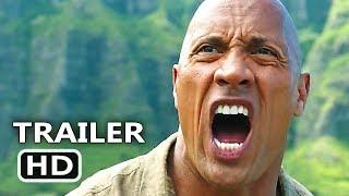 JUMANJI 2 International Trailer 2017 New Footage D