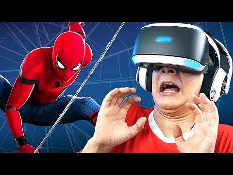 СИМУЛЯТОР ЧЕЛОВЕКА-ПАУКА в PlayStation VR!